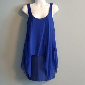 Bailey 44 Royal Blue Mini Dress / tunic